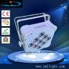 9PCS X 10W de LEIDENE Vlakke Lichte RGBWA 4in1 Draadloze DMX512 Batterty DJ Apparatuur van het PARI