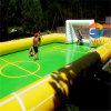 Campo gonfiabile della corte di gioco del calcio del sapone dell'acqua per il gioco di calcio