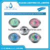 luz subacuática inoxidable impermeable de la boquilla de la fuente del acero LED