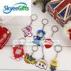 Kreative Form-hängender Karikatur-Zubehör Belüftung-Schlüsselring Keychain für förderndes Geschenk