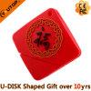 Mecanismo impulsor chino del flash del USB del PVC del regalo del festival (YT-6421)