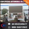 Lifting LED Van Screens Truck, Truck Mobile Advertising Display LED para o exterior