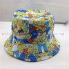 Chapéu branco barato da cubeta da qualidade do tampão do Cloche da cópia dos desenhos animados para senhoras