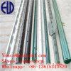 Обитый металлом столб загородки столба t стальной зеленый покрашенный