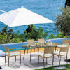 2017nuevos muebles de exterior de la silla de comedor