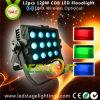 200W прожектор 12PCS*15W RGB УДАРА напольный СИД с Ce, RoHS