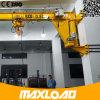 1 tonne 2 tonnes 3 tonnes grue de potence fixée sur colonnes de 5 tonnes avec l'élévateur à chaînes