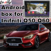 Casella Android del sistema di percorso di GPS per l'interfaccia del video di Infiniti Q60