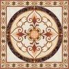 Tegel 1200X1200mm van de Vloer van het Kristal van het Tapijt van het Patroon van de bloem Tegel Opgepoetste Ceramische (BMP07)