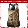 De recentste Mouwloos onderhemden van de Druk van de Sublimatie van de Manier van het Ontwerp voor Vrouwen (eltci-61)