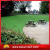 Fábrica artificial sintetizada china del precio del césped de la hierba directa para el jardín