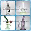 Projeto bonito que brilha a tubulação de água de fumo de vidro feita