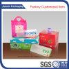 Coffret d'emballage pliable en plastique personnalisé
