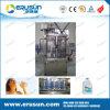 Llenado de 10 litros de agua mineral que capsula Maquinaria