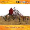 Взбираться сети малыша и игра скольжения для спортивной площадки (NC-10002)