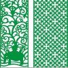 顧客用Green Color Green Material PunchかPerforated Aluminum Panels