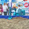 Kids (FLAE)のための娯楽Park Funny Operated Excavator