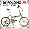 27 Speed Alloy Folding Bicycle (WL-2041A)