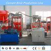 Machine de fabrication de brique concrète automatique avec l'AP de Siemens