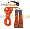 適性の製品PVCロープのプラスチックベアリングハンドルの縄跳び(PC-JR1100)