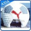 Tenda gonfiabile della cupola di sport del PVC di figura di gioco del calcio che sviluppa attività esterna