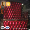 Sound ligero Insulation Leather Decorative Panel para Bar Counter