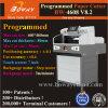 De automatische PLC 80mm van de Duw Bladen die van de Stapel van het Document van de Rand van het Blok van het Boek van de Grootte van de Dikte A3 A4 Machine in orde maken