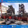 Capacity60-100cbm/Hourを働かせることを用いる高性能のバケツの鎖の金の浚渫船