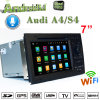Android 7.1 Carplay Hualingan DVD GPS для Audi A4/S4/RS4 на передней панели аудиосистемы с 3G WiFi навигации GPS