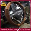 Dekorative sechs Farben geeignet für allen Auto-Lenkrad-Deckel der Leute-PU+Cloth