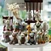 Unique Mini Resin Animal Figurine Figure Home Decor Gift