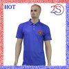 [منس] [هيغقوليتي] رفاهيّة زرقاء لعبة غولف لعبة البولو [ت] قميص