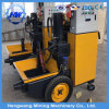 7,5 kw Mini Type hydraulique Pompe à béton de mortier de ciment pour verser l'utilisation de la pompe de convoyage