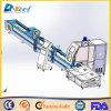 CNC Pipe Cutting Machine Fiber 500W Ipgレーザー8mm Metal