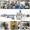 Ligne en plastique d'extrusion de pipe pour la pipe du HDPE PPR de PVC