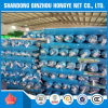 Rede de segurança da construção do HDPE da alta qualidade com ilhós e placa em Rolls