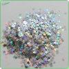 Polvere di scintillio della stella dell'animale domestico del laser