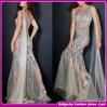 Сексуальные женщины одно платье вечера Mermaid диаманта длины пола плеча