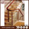 Barandilla moderna del acero inoxidable y del vidrio para la escalera de interior (SJ-H1901)