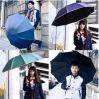 Guarda-chuva de dobramento da alta qualidade 3 relativos à promoção ao ar livre manuais Sun