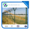 ISO Certificaiton를 가진 Decorative 임시 정원 Welded Curved Fence/Bending Triangular Wire Mesh Fence