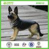 Het gloednieuwe Kleine Standbeeld van de Hond van de Wolf van de Hond van de Versie Grijze (NF86113)