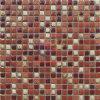 赤いレトロ様式の装飾の陶磁器のモザイク・タイル(CST316)