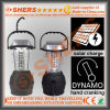 36 LED Solar Light de campaña, con Dynamo de arranque (SH-1990b)