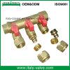 OEM & ODM Qualité laiton forgé 3-Way Manifold (AV9069)