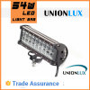 éclairage LED Bar de Waterproof de CREE de 9  54W Double Row