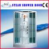 Sala de ducha de vapor de vidrio templado