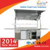 New conveniente Style Mobile Coffee Carts para el CE de Sale