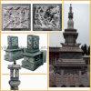 石造りの仏の寺院大理石の仏の花こう岩仏(YKBH-05)