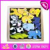 2014명의 새로운 다채로운 아이 나무로 되는 동물성 장난감, Popualr 귀여운 아이들 나무로 되는 동물성 장난감, 사랑스러운 아기 나무로 되는 동물성 장난감 고정되는 W13e029